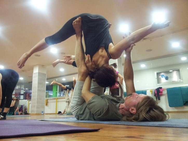 Samuela Urbini insegnante yoga