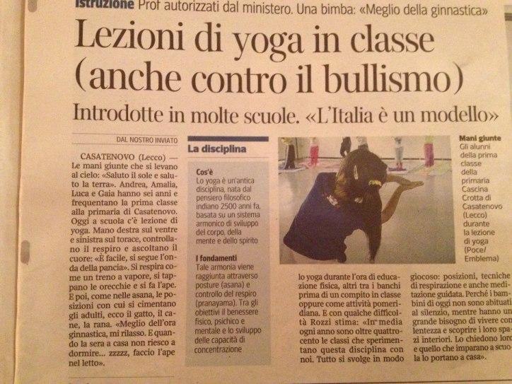 samuela urbini yoga teacher