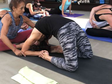 assist in Kapotasana